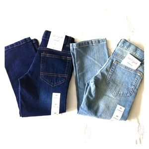 NWT!!! Lot of 2 Cat & Jack Boys 4T Blue Jeans